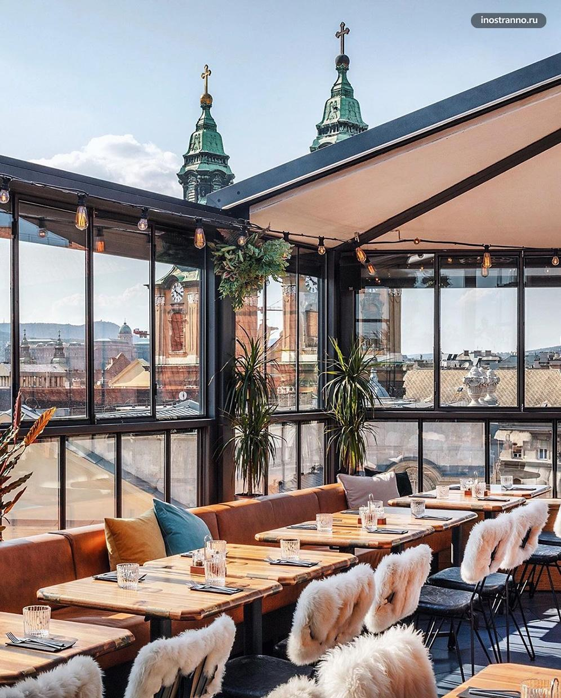 Toprum Sky & Bar недорогой бар в Будапеште с хорошим видом