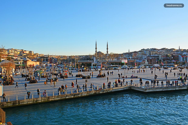 Пирс Ускюдар в Стамбуле