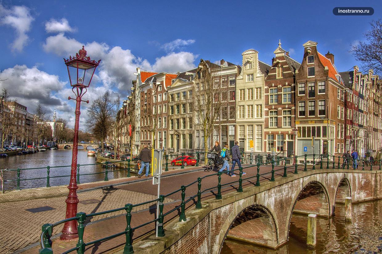 Амстердам каналы и набережная