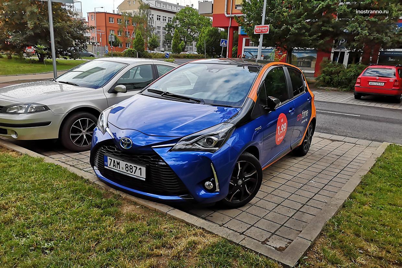 Краткосрочная аренда автомобиля в Праге через приложение