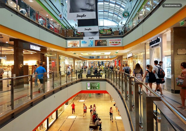 Торговый центр Аркада Будапешт