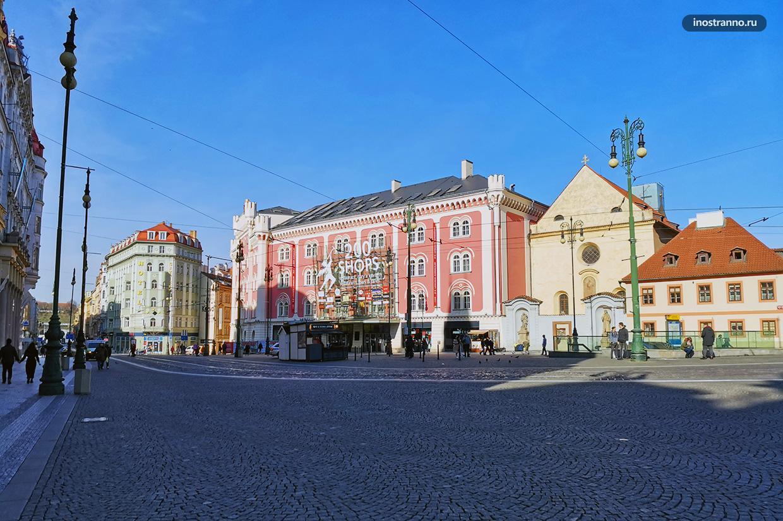 Торговый центр Палладиум в Праге