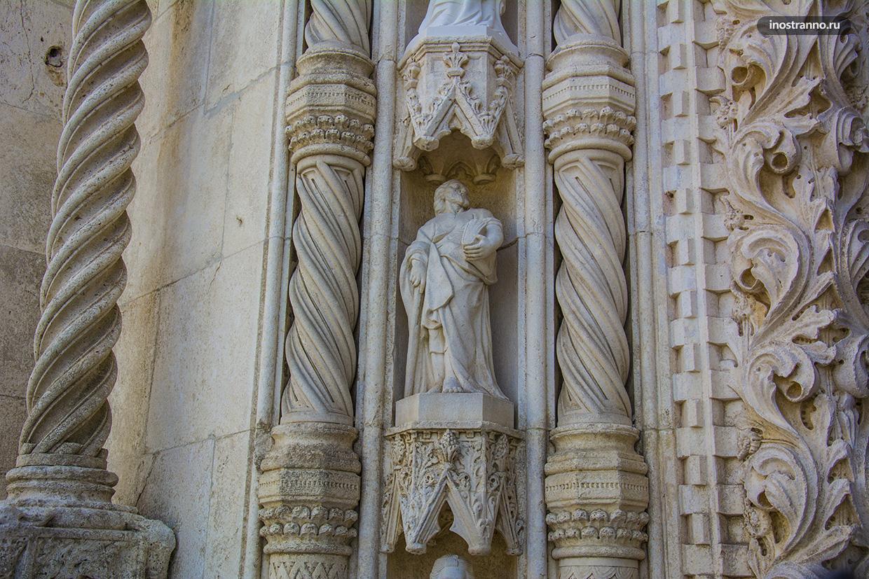 Скульптуры собора Святого Иакова в Шибенике