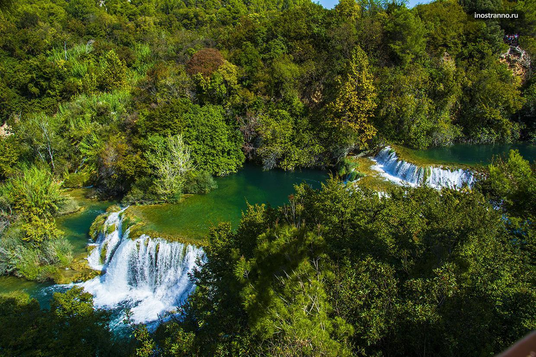 Водопады Хорватии