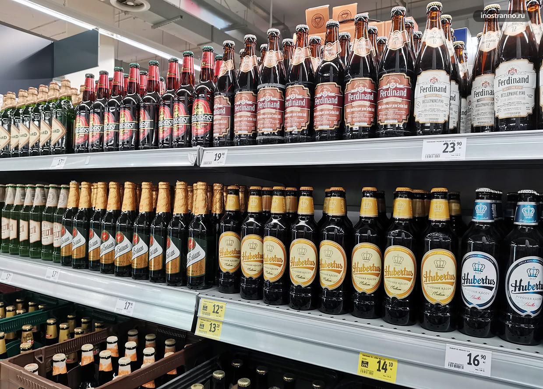 Чешское пиво цены в Праге