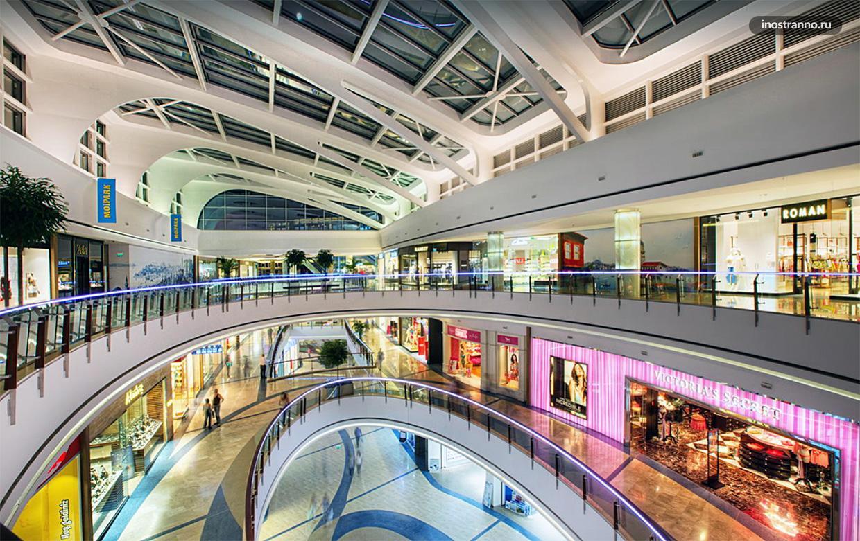 Молл Стамбул большой торговый центр в Стамбуле