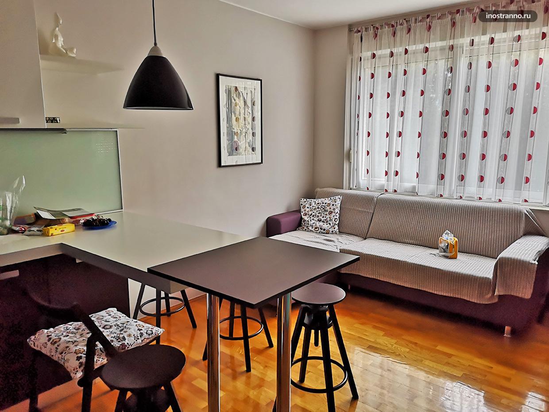 Аренда апартамента в Шибенике