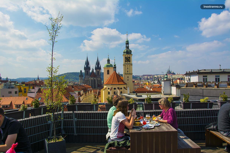 Романтичный ресторан в Праге