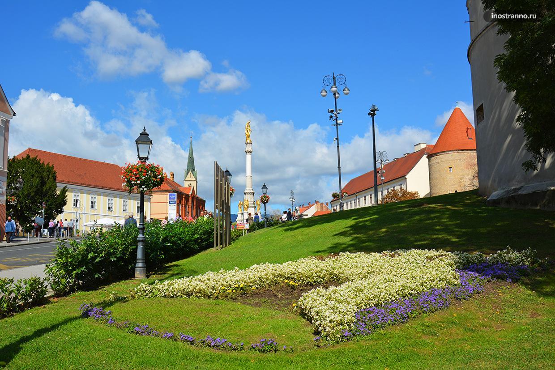 Красивое нетуристическое место в Загребе