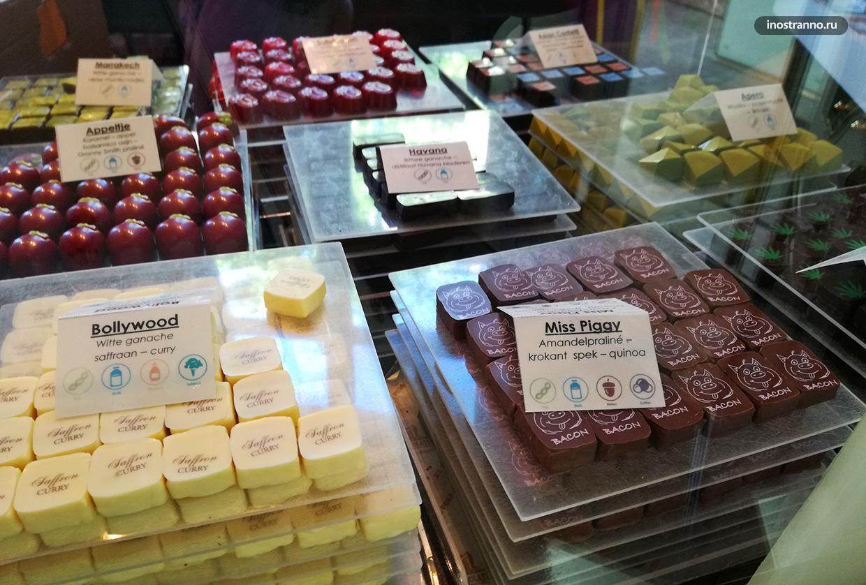 Шоколадный тур по Брюсселю