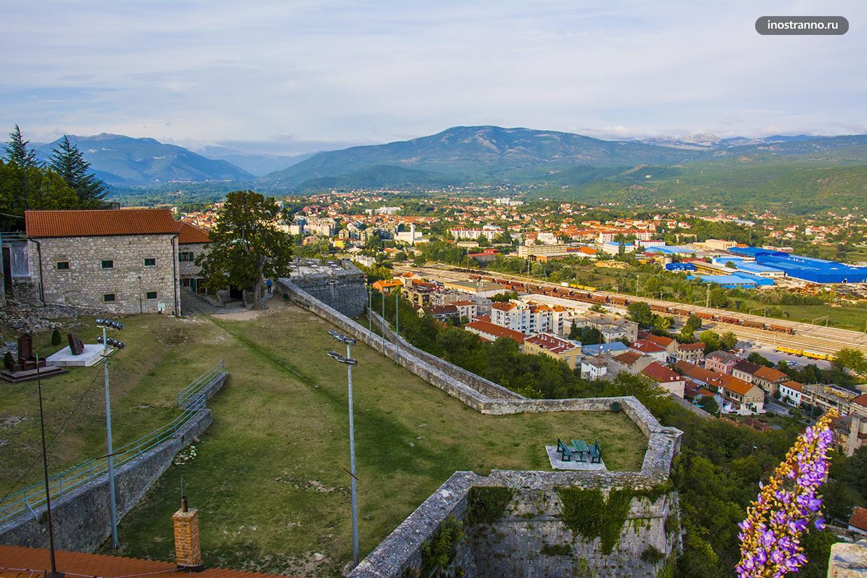 Хорватский город Книн
