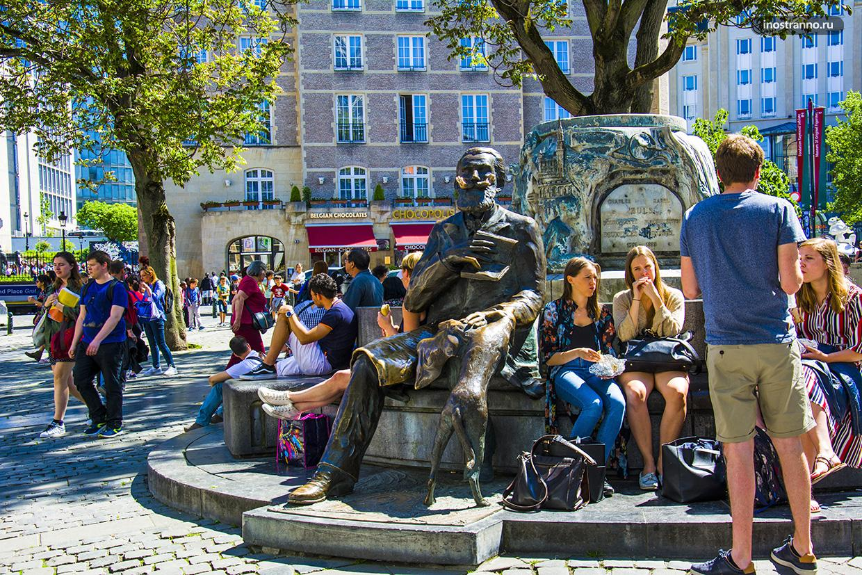 Памятник Шарлю Бюльсу в Брюсселе