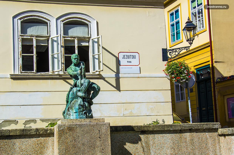 Фонтан в Загребе