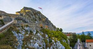 Крепость Книн недалеко от Шибеника