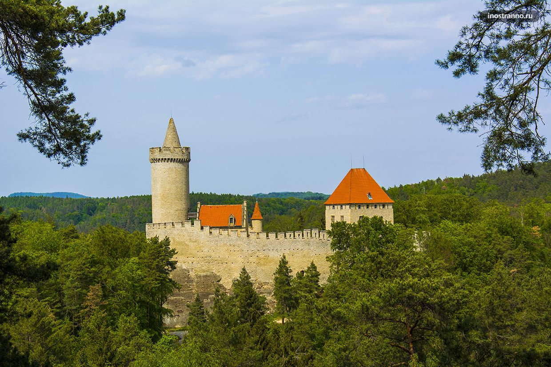 Замок Кокоржин рядом с Прагой