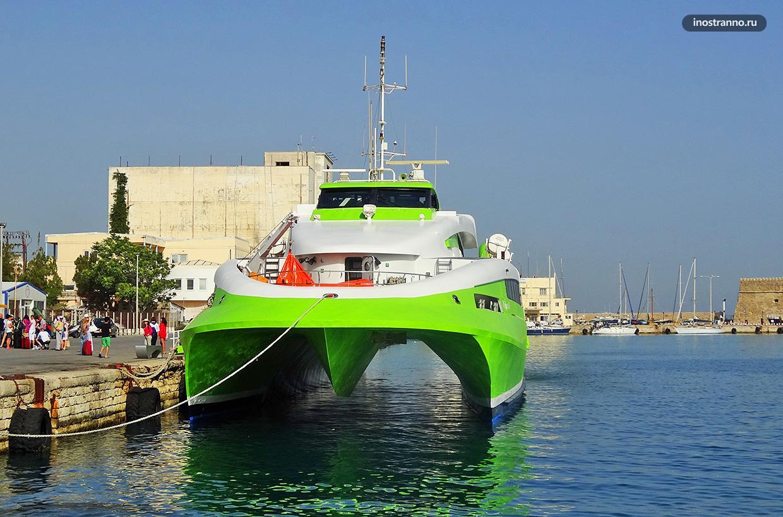 Миконос порт