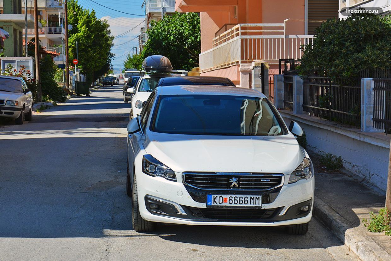 Миконос аренда авто