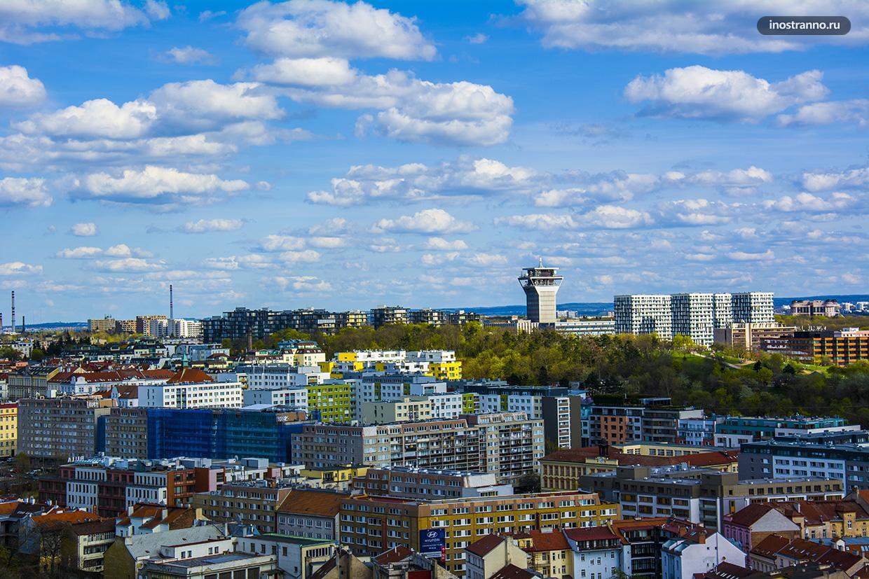 Новостройки в Праге в районе Жижков Residence Garden Towers и Central Park Praha