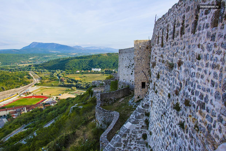 Книн - старейшая крепость Хорватии