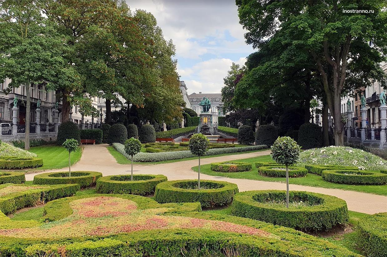Парк и дворец Эгмонт в Брюсселе