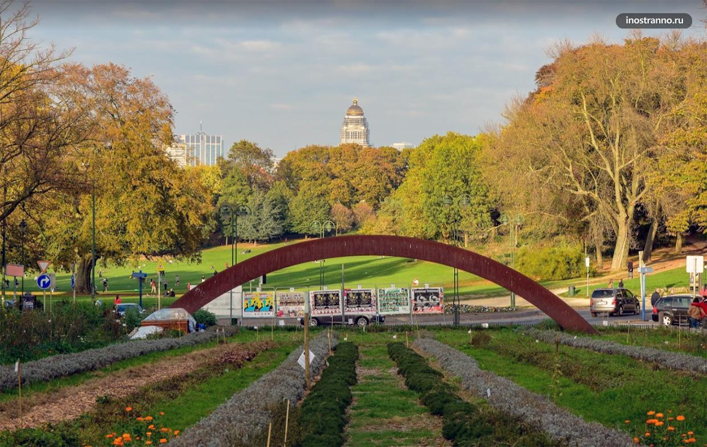 Парк Дюдан в Брюсселе