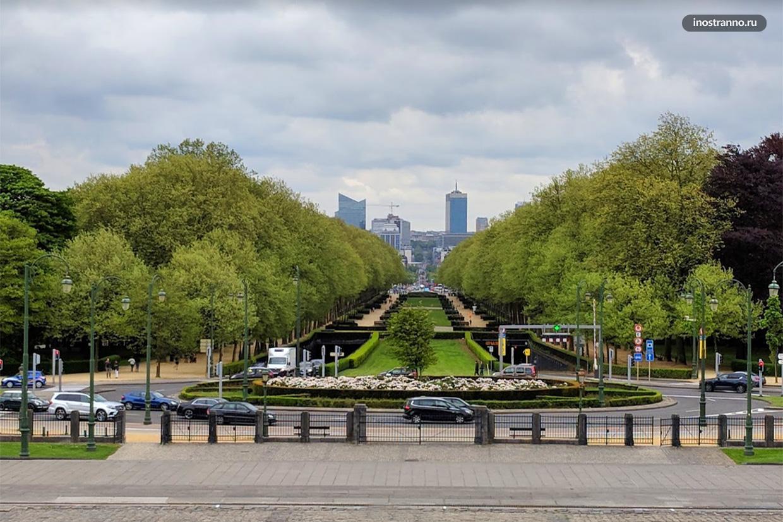 Парк Элизабет в Брюсселе