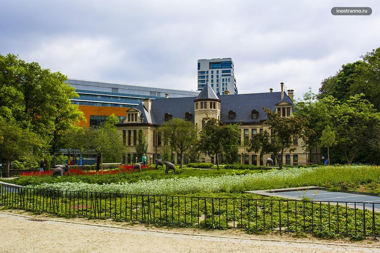 Парк Леопольд в Брюсселе