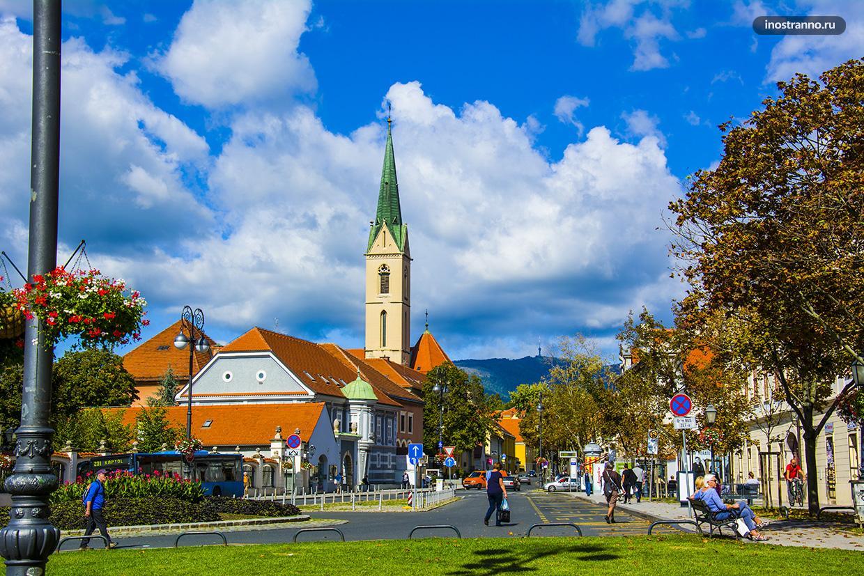 Фото города Загреб в Хорватии