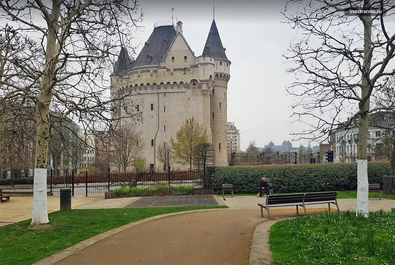 Халлепорт средневековые ворота в Брюсселе