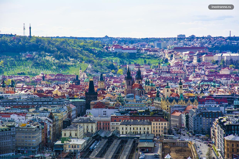 Прага с высоты
