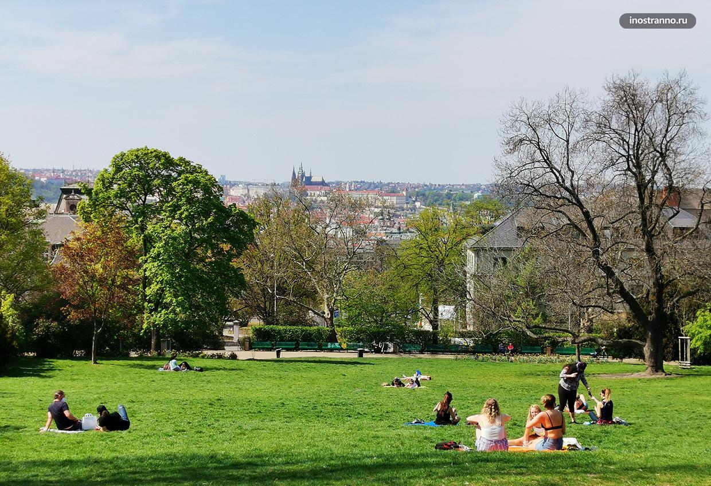 Риегровы сады в Праге