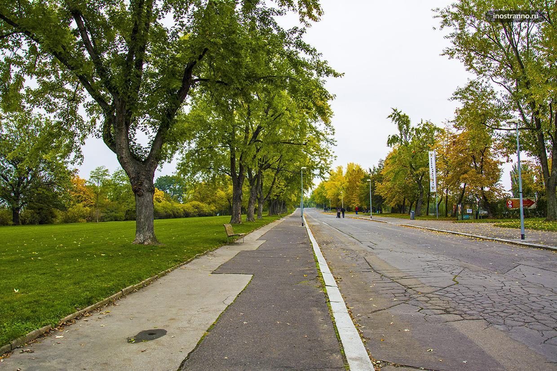 Парк для бега в Праге