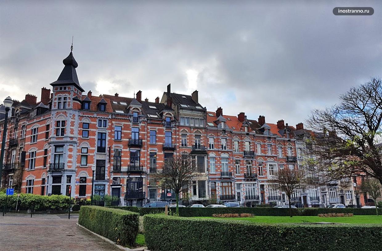 Площадь Амбиорикс в Брюсселе