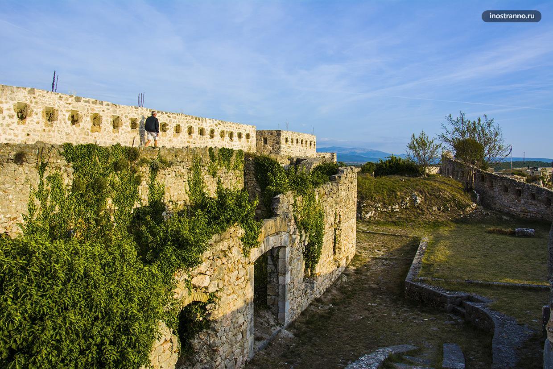 Что посмотреть в Хорватии - крепость Книн