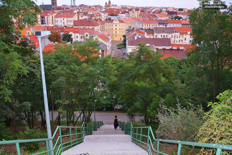 Парк Витков в Праге
