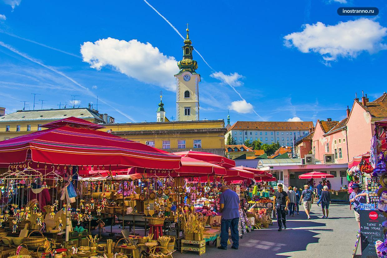 Где купить продукты и сувениры в Загребе