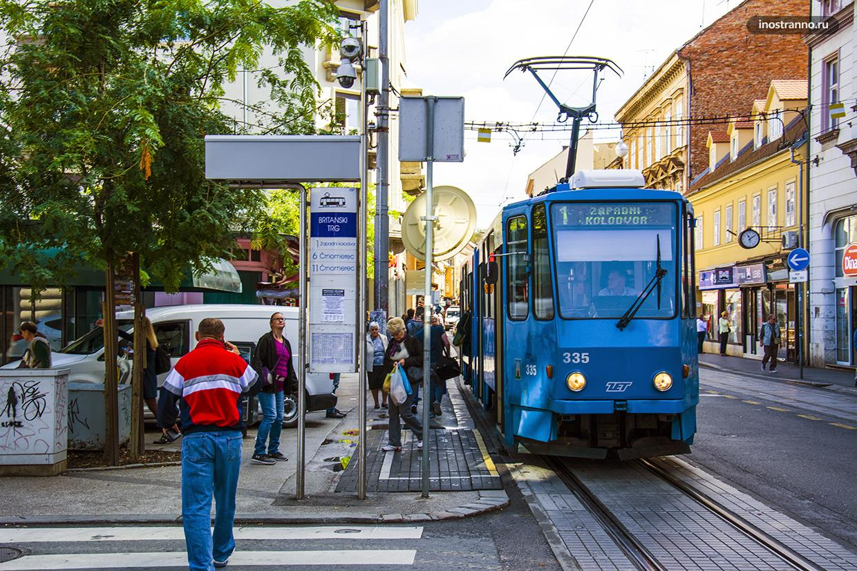 Городской транспорта Загреба