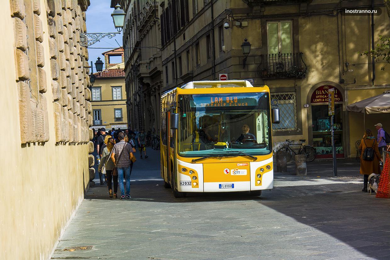 Автобус в Италии