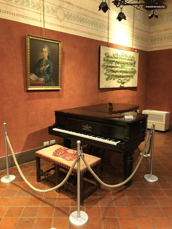Дом-музей Пуччини в Лукка