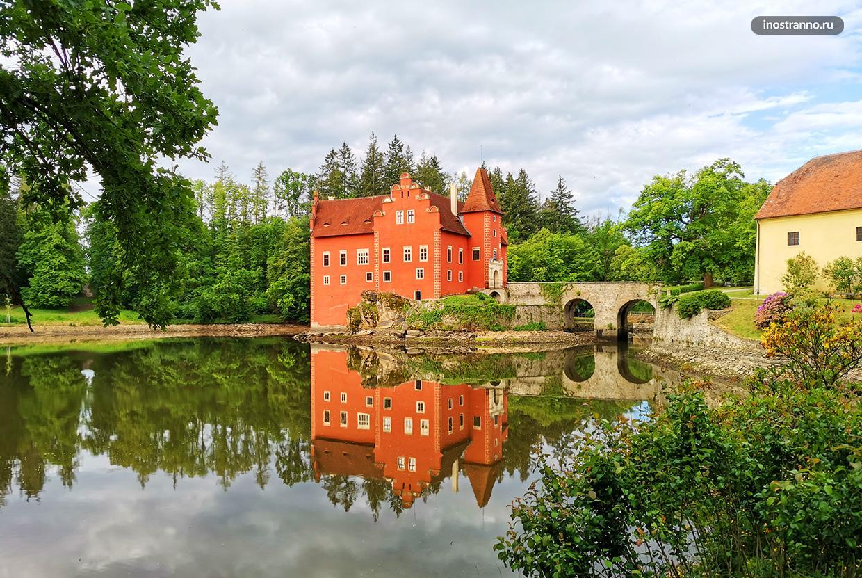 Знаменитый замок в Чехии