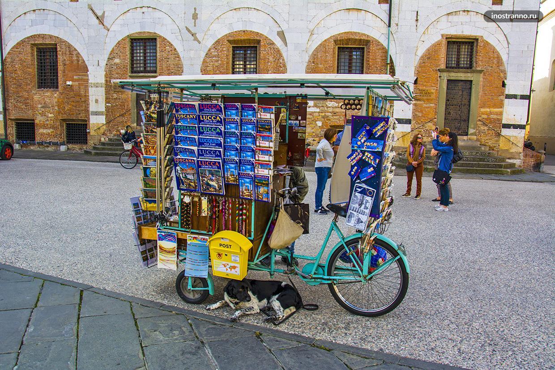 Итальянский город Лукка