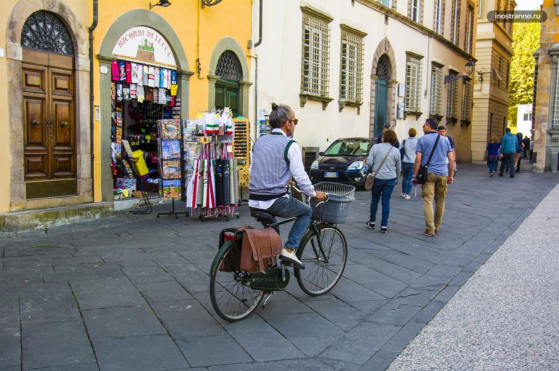 Итальянский велосипедист