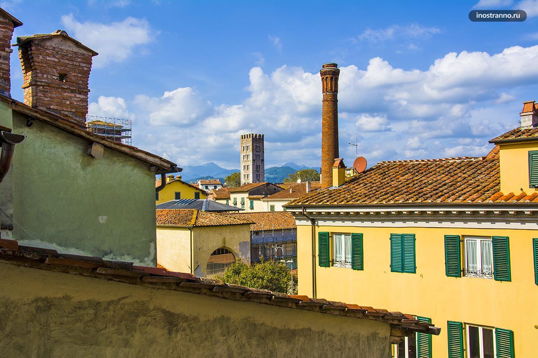 Маленький город в Тоскане