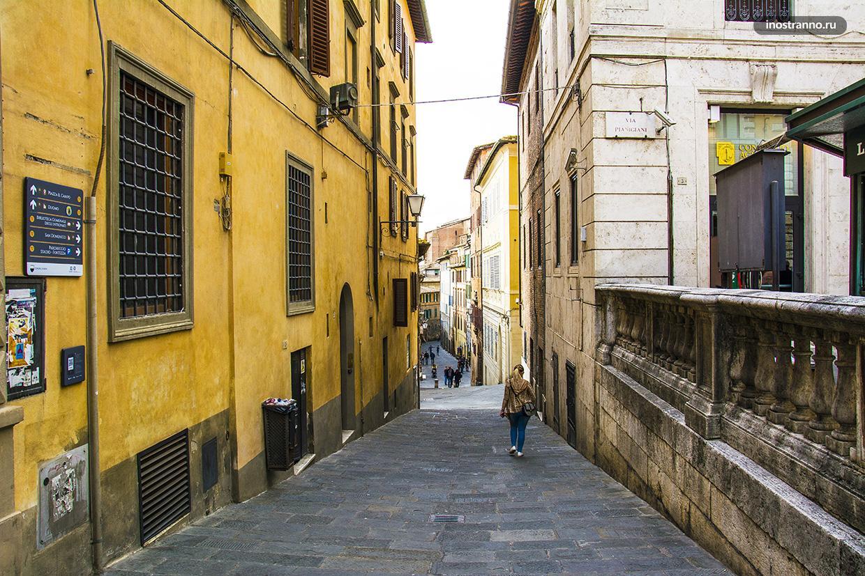 Прекрасный город Сиена в Тоскане