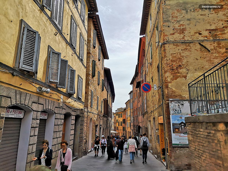 Средневековый итальянский город