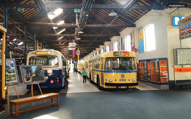 Музей городского транспорта Брюсселя