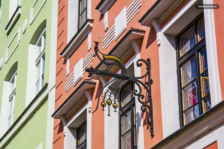 Городские детали Праги