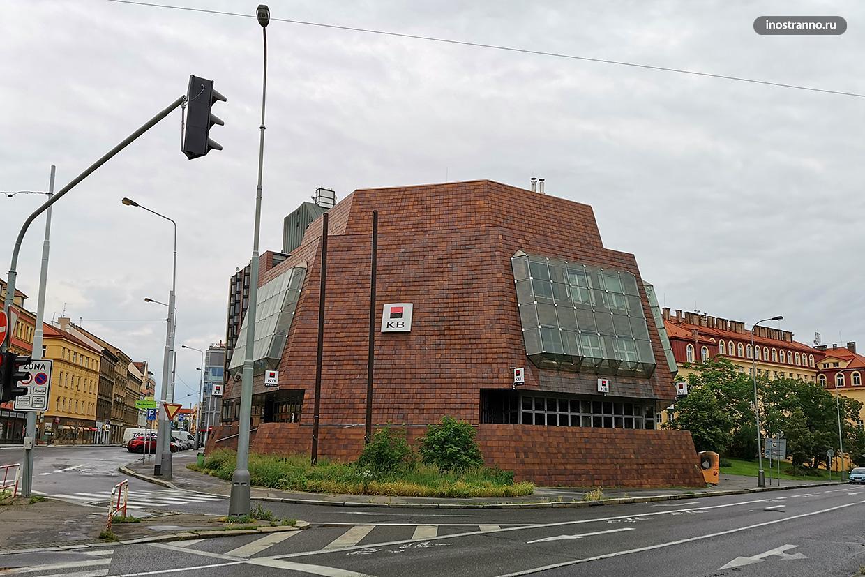 Архитектурный стиль Брутализм в Чехии