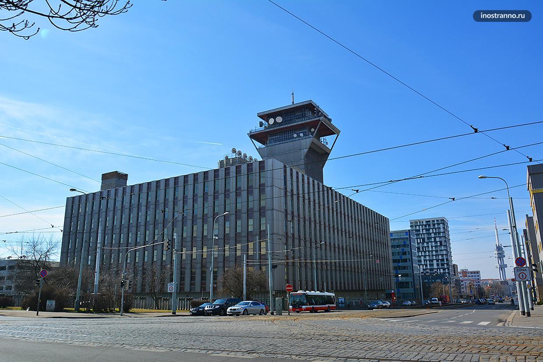 Центральное Телекоммуникационное здание в Праге