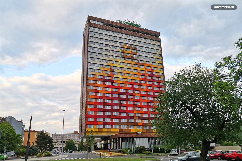 Отель Олимпик в Праге